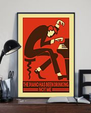 Pianist The piano has been drinking not me 11x17 Poster lifestyle-poster-2