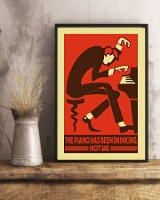 Pianist The piano has been drinking not me 11x17 Poster lifestyle-poster-3