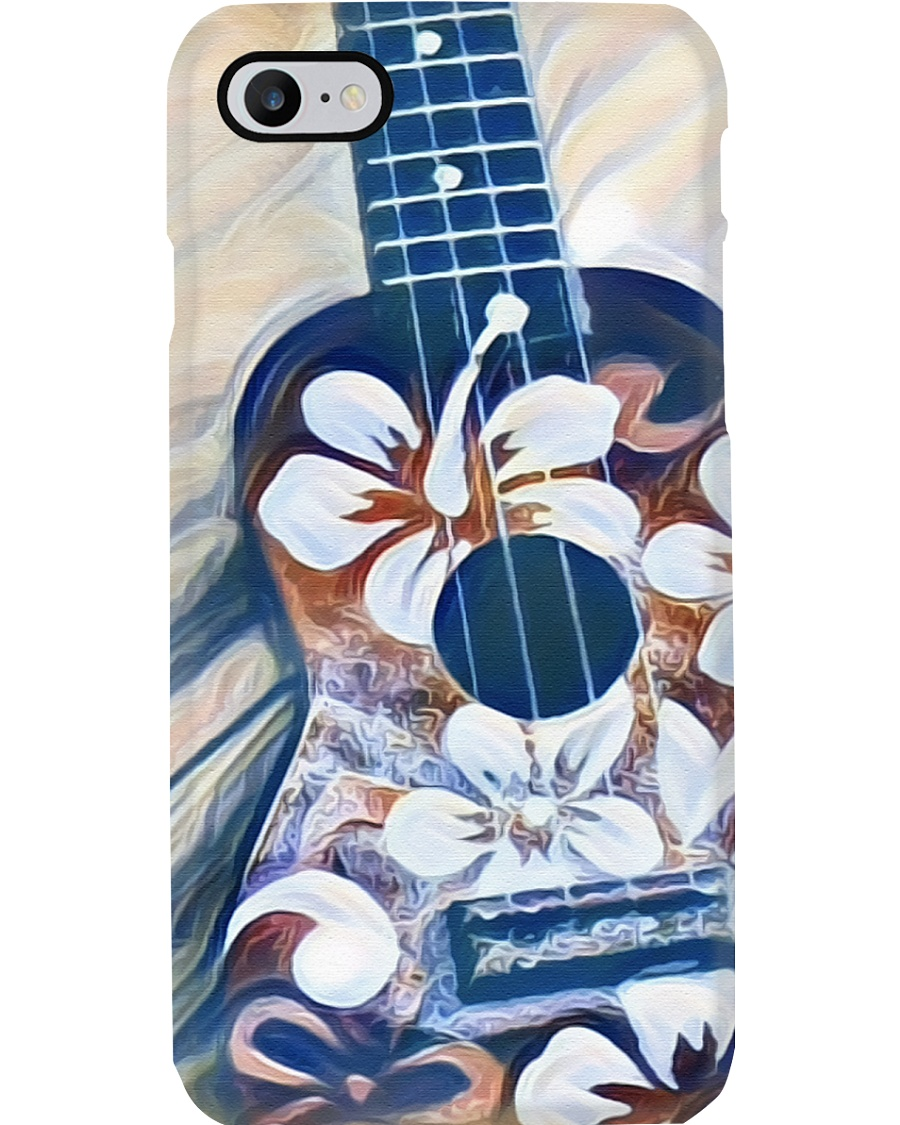 Painting Ukulele Phone Case