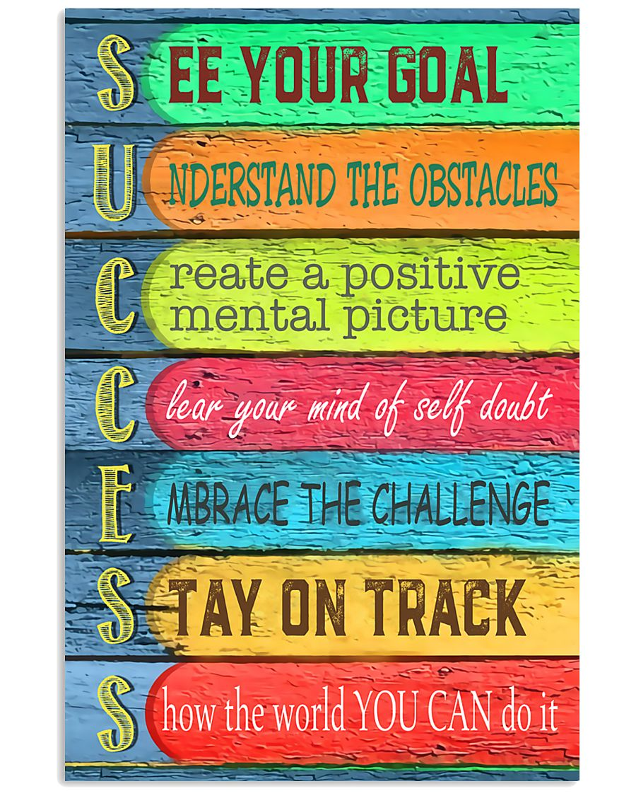 Teacher See Your Goal  11x17 Poster