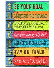 Teacher See Your Goal  11x17 Poster front