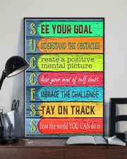 Teacher See Your Goal  11x17 Poster lifestyle-poster-2