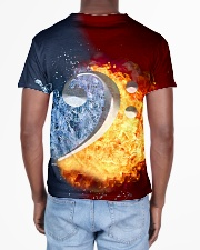 Contrabass Fire and Water F-clef All-over T-Shirt aos-all-over-T-shirt-lifestyle-back-02
