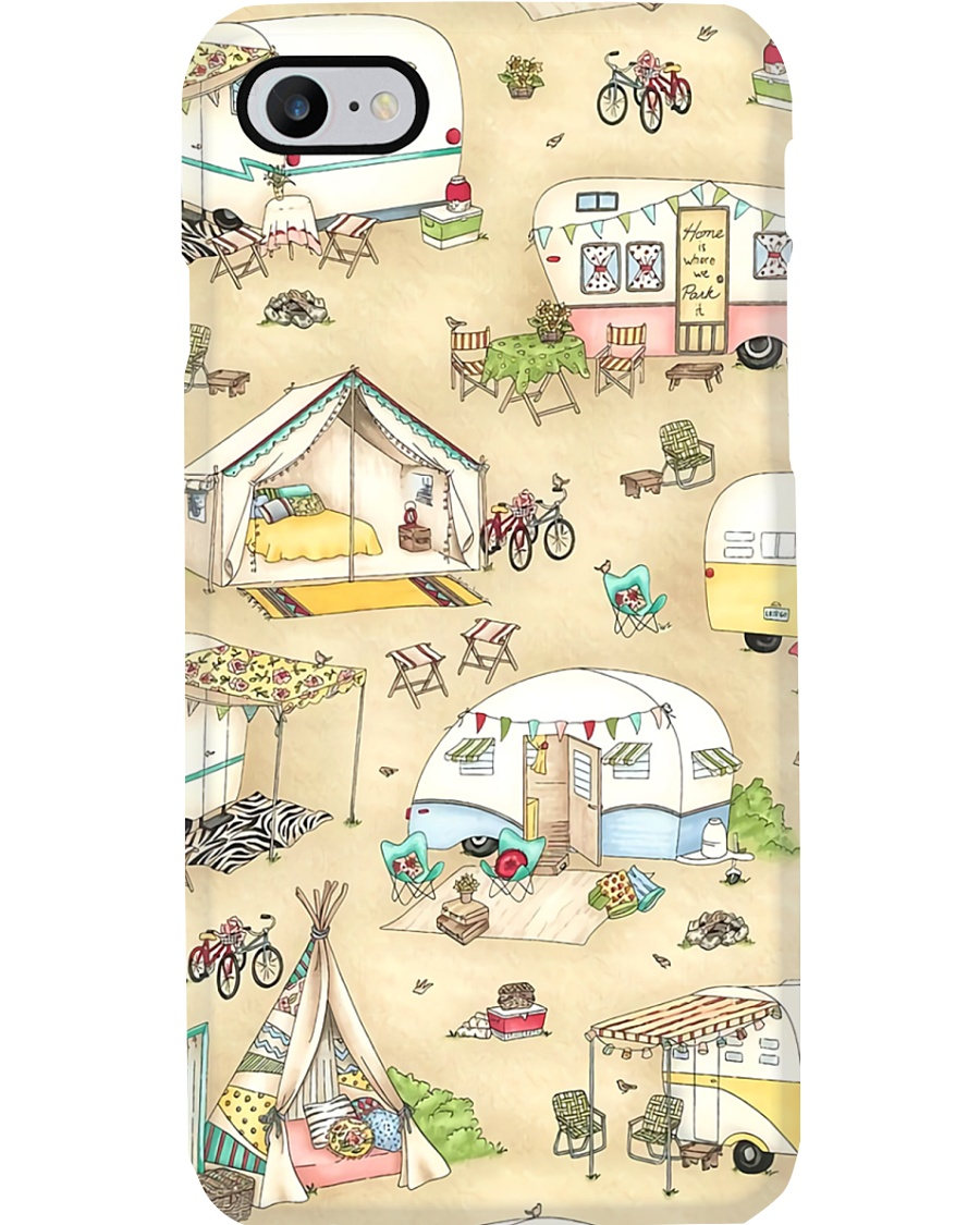 Camping Ground Phone Case