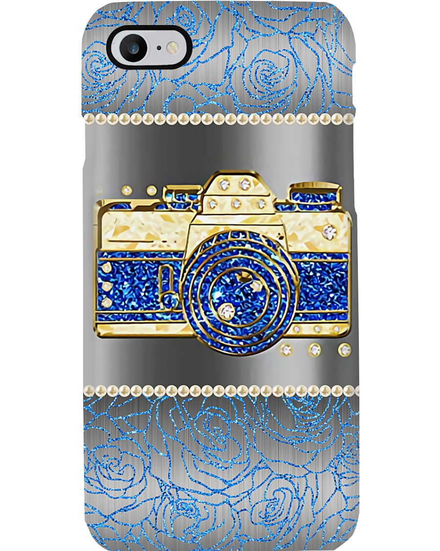Photographer Blue Light Camera Phone Case