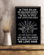 Hairstylist In This Salon 11x17 Poster lifestyle-poster-3