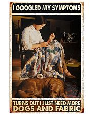 Need More Dogs And Fabric Sewing 11x17 Poster front