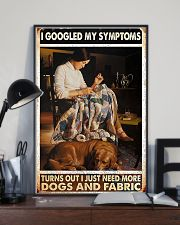 Need More Dogs And Fabric Sewing 11x17 Poster lifestyle-poster-2