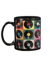 DJ Colorful Vinyls Mug back
