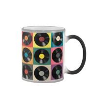 DJ Colorful Vinyls Color Changing Mug thumbnail