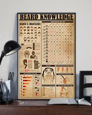 Hairdresser Beard Knowledge 11x17 Poster lifestyle-poster-2