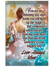 Ballet Mom - Your biggest fan 11x17 Poster front