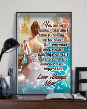 Ballet Mom - Your biggest fan 11x17 Poster lifestyle-poster-2