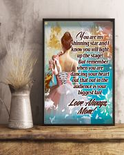 Ballet Mom - Your biggest fan 11x17 Poster lifestyle-poster-3