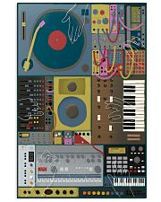 Synthesizer Machine 11x17 Poster front