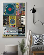 Synthesizer Machine 11x17 Poster lifestyle-poster-1