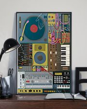 Synthesizer Machine 11x17 Poster lifestyle-poster-2