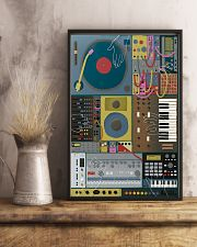 Synthesizer Machine 11x17 Poster lifestyle-poster-3