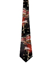 Drummer Red Drums Gift Tie front