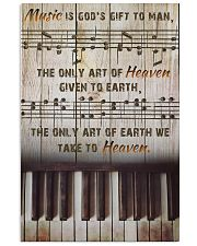 Pianist Music Is God's Gift To Man 11x17 Poster front