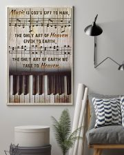 Pianist Music Is God's Gift To Man 11x17 Poster lifestyle-poster-1