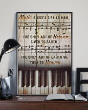 Pianist Music Is God's Gift To Man 11x17 Poster lifestyle-poster-2