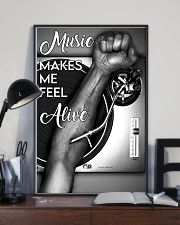 DJ music makes me feel alive 11x17 Poster lifestyle-poster-2