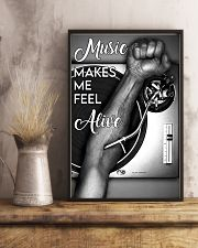 DJ music makes me feel alive 11x17 Poster lifestyle-poster-3
