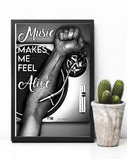 DJ music makes me feel alive 11x17 Poster lifestyle-poster-8
