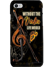 Violinist Without The Violin Life Would Bb  Phone Case i-phone-7-case