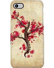 Massage Therapist Cherry Blossom Tree Spine Phone Case i-phone-7-case