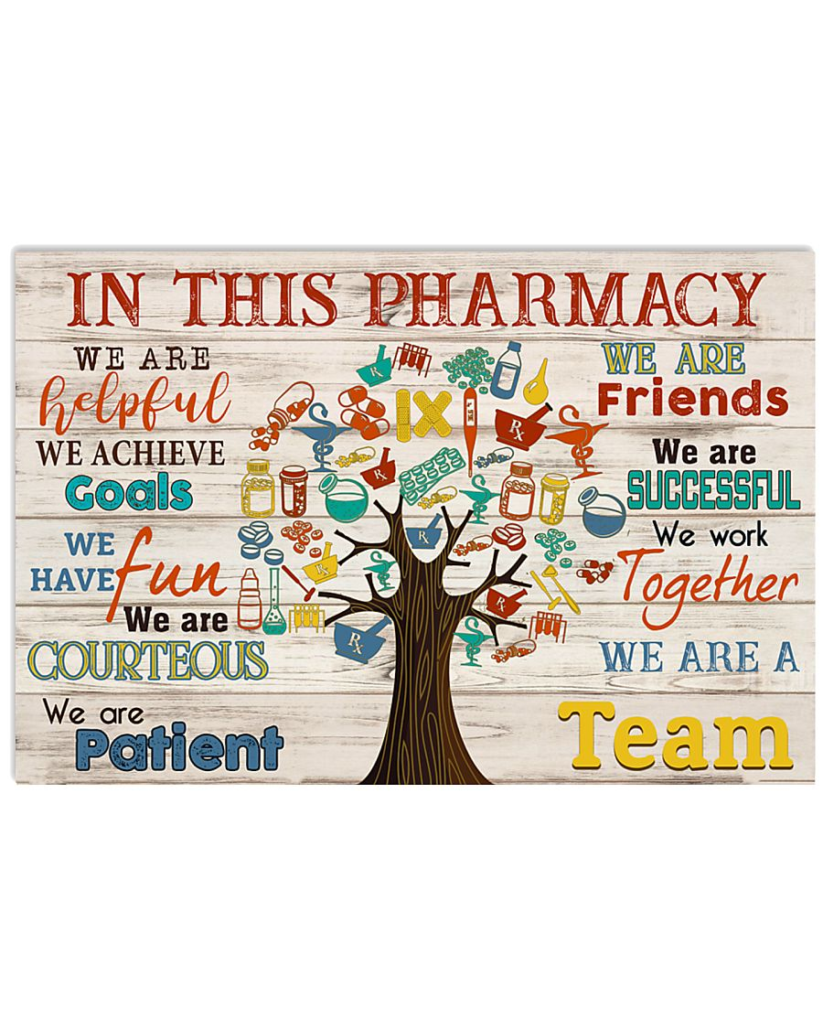 Pharmacist in this pharmacy 24x16 Poster