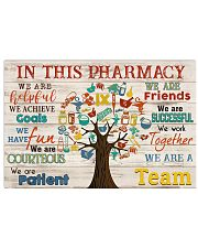 Pharmacist in this pharmacy 24x16 Poster front