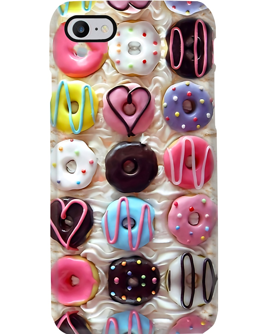 Baking Colorful Donuts Phone Case