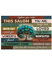 This Salon Of Hairdresser 17x11 Poster front