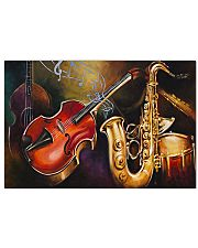 Saxophone Band 17x11 Poster front