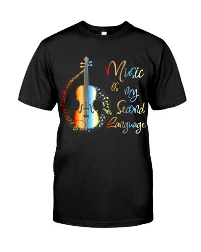 Viola Music Is My Second Language