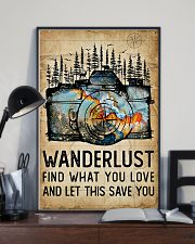 Photographer Wanderlust 11x17 Poster lifestyle-poster-2