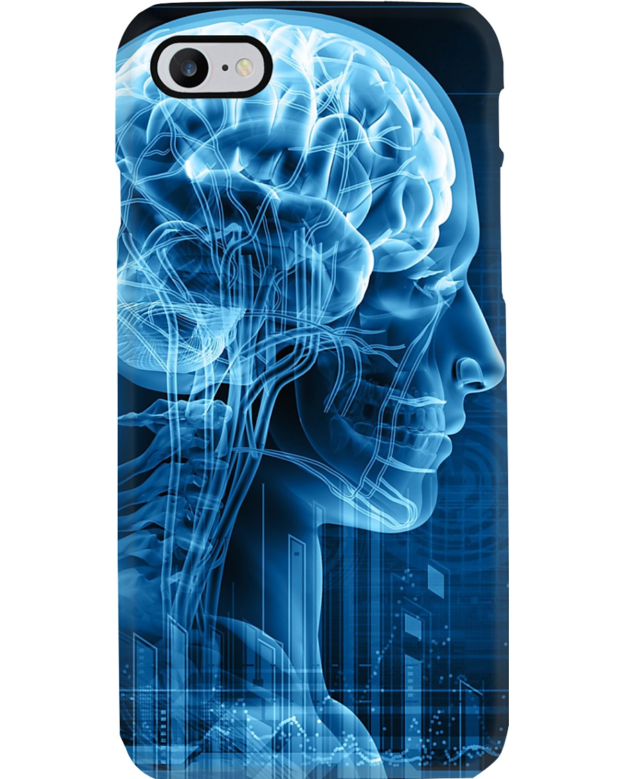 Radiologist X-ray Human Brain Phone Case