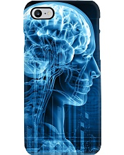 Radiologist X-ray Human Brain Phone Case i-phone-7-case