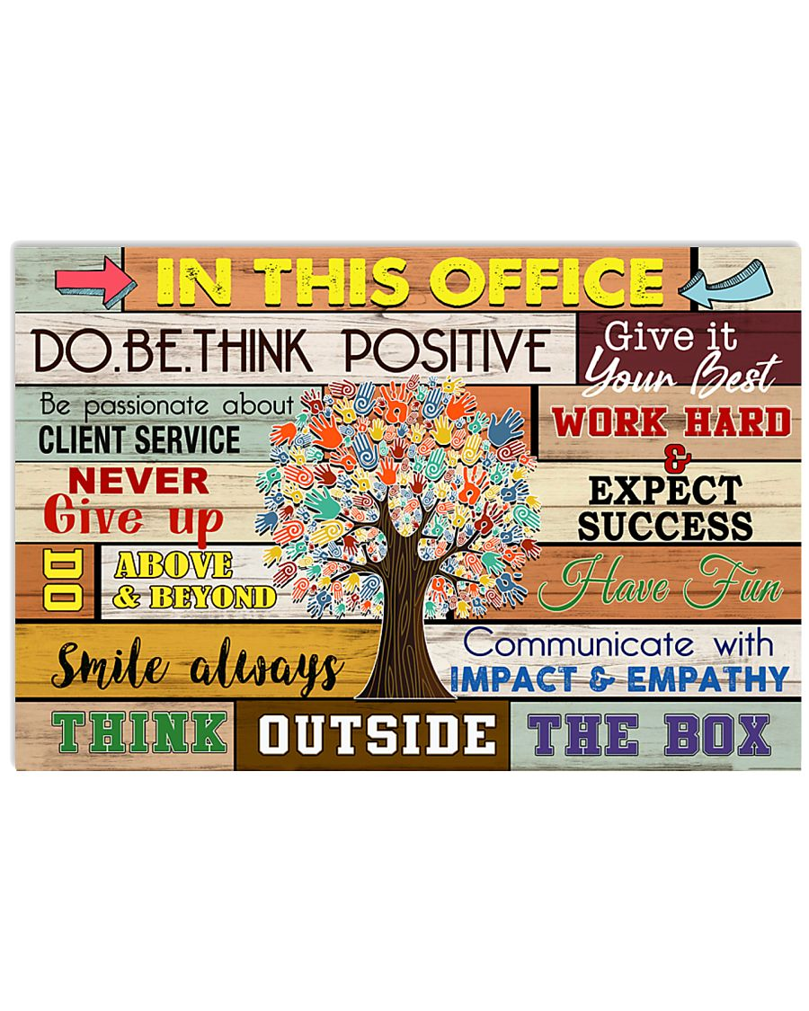 Occupational Therapist Think Outside The Box 24x16 Poster
