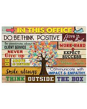 Occupational Therapist Think Outside The Box 24x16 Poster front