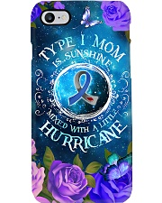 Type 1 Mom Is Sunshine T1D Mom Gift Phone Case i-phone-7-case