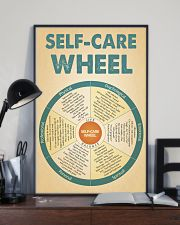 Teacher Self-Care Wheel 11x17 Poster lifestyle-poster-2