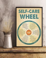 Teacher Self-Care Wheel 11x17 Poster lifestyle-poster-3