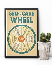 Teacher Self-Care Wheel 11x17 Poster lifestyle-poster-8