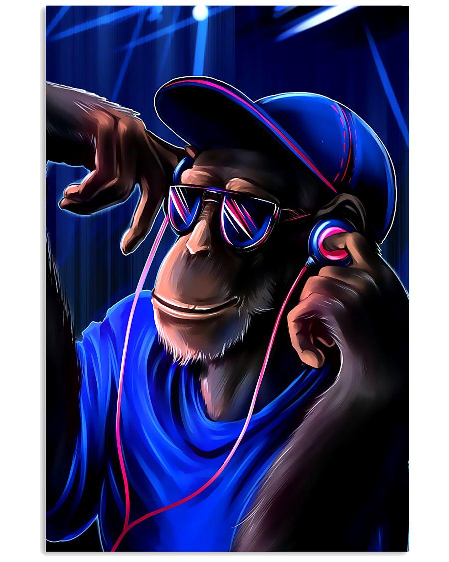 DJ Monkey 11x17 Poster
