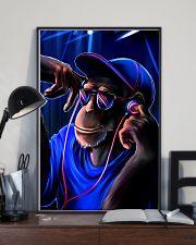 DJ Monkey 11x17 Poster lifestyle-poster-2
