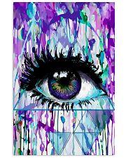 Art Purple Eye Optometrist   11x17 Poster front