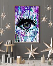 Art Purple Eye Optometrist   11x17 Poster lifestyle-holiday-poster-1